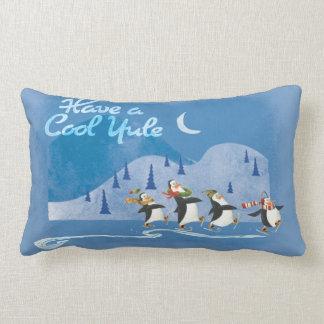 Have a Cool Yule Lumbar Pillow