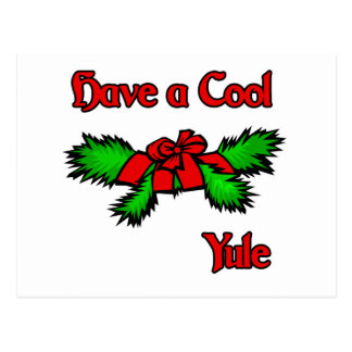 Have a cool Yule Post Cards