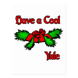 Have a cool Yule Postcard