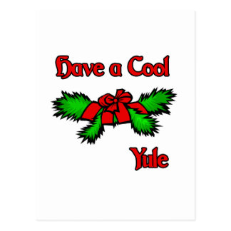 have a cool Yule Post Card