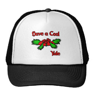 have a cool Yule Trucker Hat