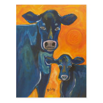 Have A Cow Postcard