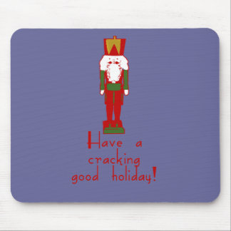 Have a Cracking Good Holiday with Nutcracker Mouse Pad