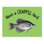 HAVE A CRAPPIE DAY POST CARD