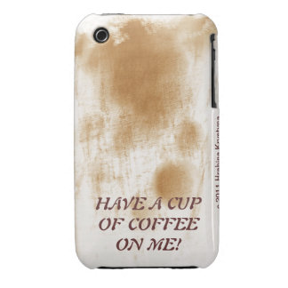 HAVE A CUP OF COFFEE ON ME! iPhone 3 CASES