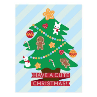 Have a Cute Christmas Postcards