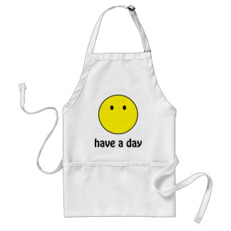 Have A Day! Adult Apron