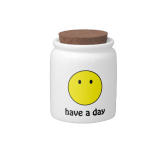 Have A Day! Candy Jars