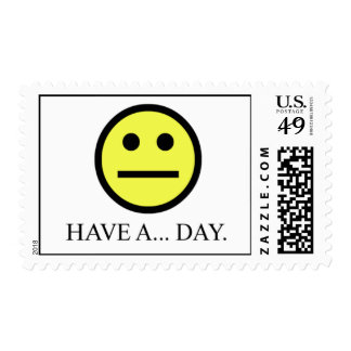 Have a day postage