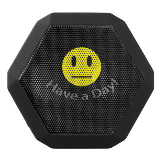 Have a day sarcastic shirt black bluetooth speaker