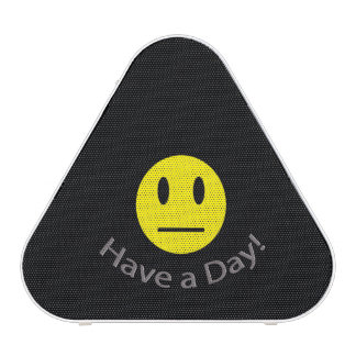 Have a day sarcastic shirt bluetooth speaker