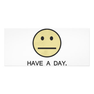 Have a Day Smiley Face Rack Card