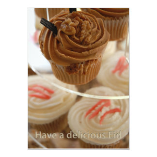 Have a delicious Eid greeting 5x7 Paper Invitation Card