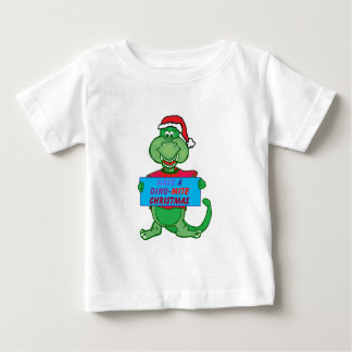 have a dino-mite Christmas Baby T-Shirt