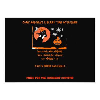 HAVE A DORCA HALLOWEEN 5X7 PAPER INVITATION CARD