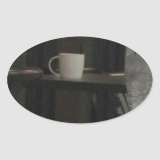 Have a drink oval sticker