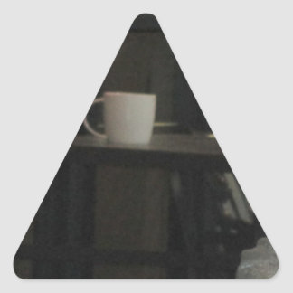 Have a drink triangle sticker