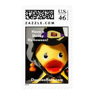 Have a Ducky Halloween! (Medium, Vertical) Stamp