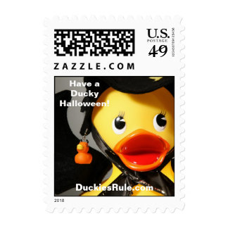 Have a Ducky Halloween! (Small, Vertical) Stamps