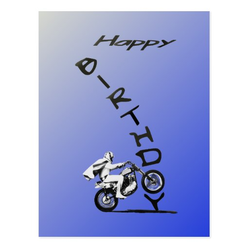 HAVE A EVEL BIRTHDAY. POSTCARD