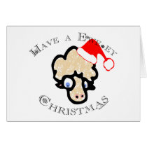 Have a Ewe-ey Christmas! Card