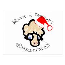 Have a Ewe-ey Christmas! Postcard