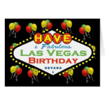 Have A Fabulous Las Vegas Birthday Card!
