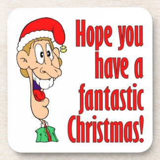 Have a fantastic, funny, merry Christmas. Nerd! Drink Coaster