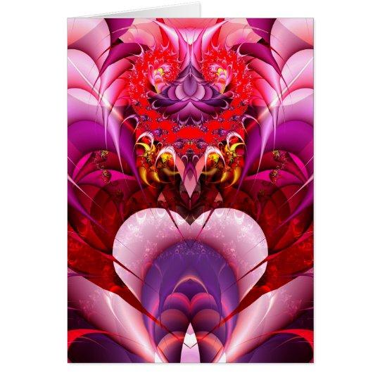 Have a Fractal Valentine  Card