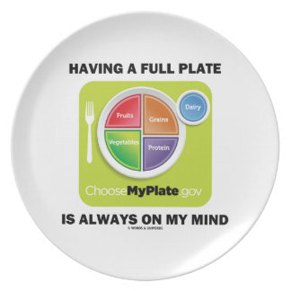 Have A Full Plate Is Always On My Mind Food Groups