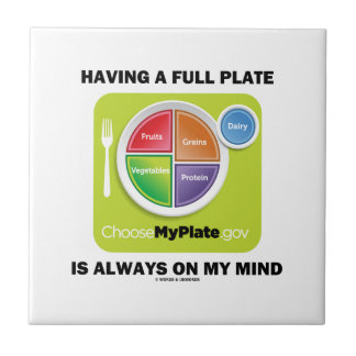 Have A Full Plate Is Always On My Mind Food Groups Tiles