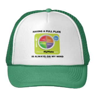 Have A Full Plate Is Always On My Mind Mesh Hats