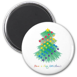 Have a Gay Christmas 2 Inch Round Magnet