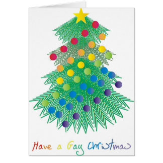 Have a Gay Christmas Greeting Cards
