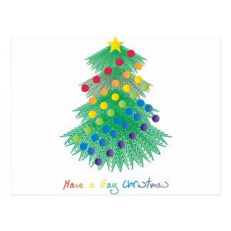 Have a Gay Christmas Postcard
