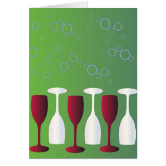 Have a glass of wine! cards