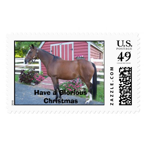 Have a Glorious Christmas Postage Stamp