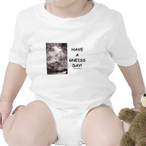 Have A Gneiss Day! (Geology Humor Have A Nice Day) Tee Shirts