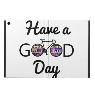 Have a good day iPad air case