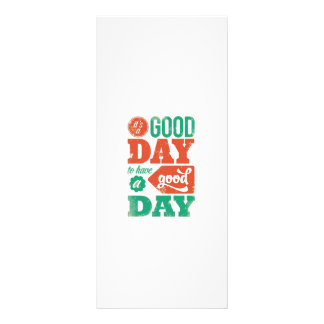 HAVE A GOOD DAY - Multicolor Graphic Greeting GIFT Rack Card
