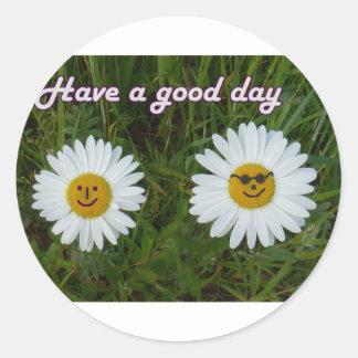 Have a good day etiquetas
