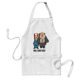 Have a good flight, squashed passenger! Bon Voyage Adult Apron