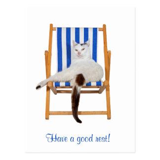 Have a good rest! postcards
