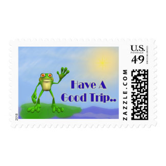 Have A Good Trip-Frog Postage