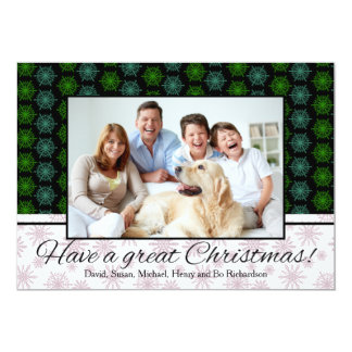 Have a Great Christmas Personalized Photo Card