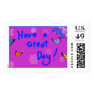 Have a Great Day! Stamp