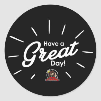 Have A Great Day stings (impediment) Classic Round Sticker
