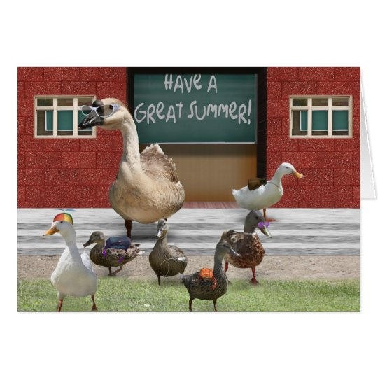 Have a Great Summer Vacation! Card