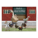 Have a Great Summer Vacation! Greeting Card