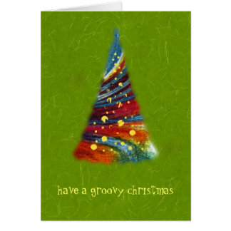 Have A Groovy Christmas Greeting Card